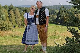 Bayerischer Wald Wanderpaar